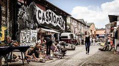 Berlin RAW-Gelände (JanJungerius) Tags: deutschland duitsland germany berlin berlijn friedrichshain rawgelände markt graffiti alternativ nikond750 tamronsp2470mm cassiopeia market people nikonflickraward