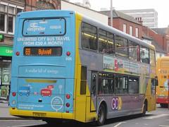 NCT 906 YT61GOJ Upper Parliament St, Nottingham on 69 (1) (1280x960) (dearingbuspix) Tags: nottinghamcitytransport go2 yt61goj 906 6869 6869yellowline yellowline yellowline6869