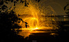The Ghost FIRE WHISPER (TheGhostVaporVision) Tags: firepainting fire painting photography noedit pyrotectnics pyro sparks night water beautifull art ghostvapor ringoffire