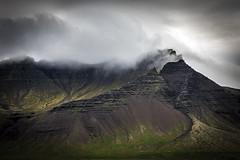 Iceland (Rainbow 4A) Tags: iceland volcano mount mountain valley peak moun montain clouds lenticular merapi mountainscape ridge nikon d810 240700 mm f28