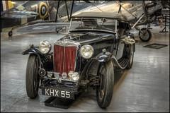 MG (Darwinsgift) Tags: car mg shuttleworth collection old warden bedfordshire nikkor 45mm pc f28 tiltshift tilt shift hdr nikon d810 vintage sportscar