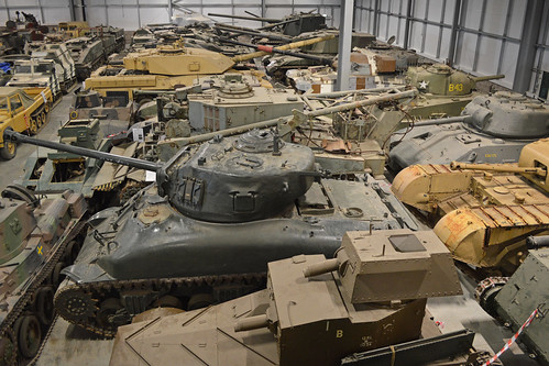 The Tank Museum Conservation Centre. 26-7-2016