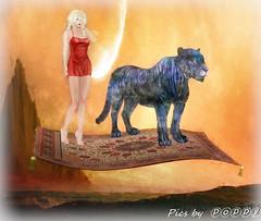 Magic Carpet Series  1  _  A whole New World (Poppys_Second_Life) Tags: 1001nights 2l arabiannights fantasy flyingcarpet liger magiccarpet myth onethousandandonenights panther panthera picsbyⓟⓞⓟⓟⓨ popi popisadventuresin2l popikone popikonesadventuresin2l poppy sl secondlife virtualphotography ألفليلةوليلةalflaylawalayla
