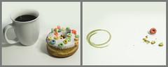 34 of 52 doughnut time lapse [explored] (NeilPas) Tags: coffee doughnut timelapse