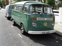 1973 Volkswagen Camper Van (Neil's classics) Tags: vehicle van camper volkswagen 1973 camping motorhome autosleeper motorcaravan rv caravanette mobilehome dormobile kombi