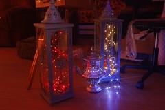 Boho Whimsical Lanterns (blackunigryphon) Tags: diy bohochic bohostyle bohemian whimsy whimsical canon dreamy gypset lantern lanterns ledlights