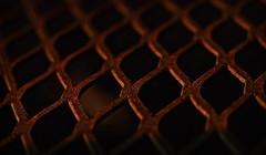 Diamonds In The Rust ! (Caroline.32) Tags: macromonday macro rust nikon nikond3200 extensiontubes table goldenhour