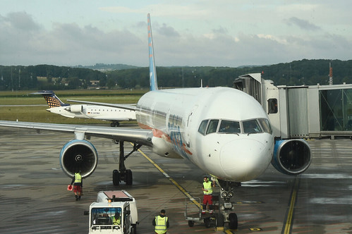Arkia Airlines Boeing 757-300; 4X-BAW@BSL;25.07.2017
