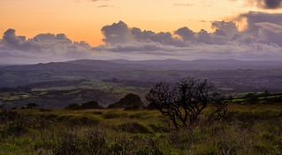 Dartmoor just after sunset