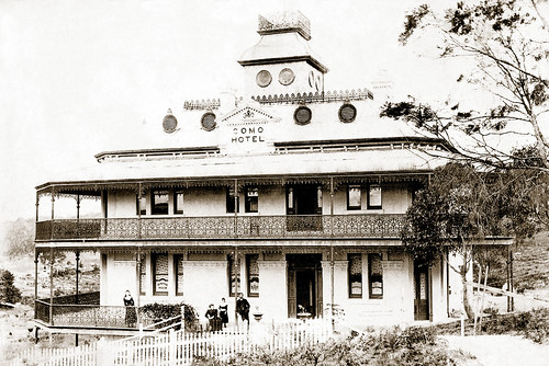 Circa 1894 - COMO HOTEL (Est. 1890), Como, Sydney, New South Wales, Australia (restored version)