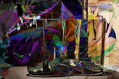 Cristal (seguicollar) Tags: cristal jarron texturas color colorido brillante imagencreativa photomanipulación art arte artecreativo artedigital virginiaseguí