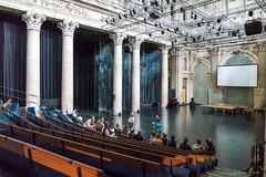 Odeon-Theater, Großer Börsensaal (Anita Pravits) Tags: börse historismus karlkönig leopoldstadt odeon openhouse serapionsensemble theater vienna wien stockexchangebuilding theatre