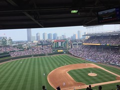 """Wrigley Field Cubs vs. Blue Jays • <a style=""""font-size:0.8em;"""" href=""""http://www.flickr.com/photos/109120354@N07/36850395175/"""" target=""""_blank"""">View on Flickr</a>"""