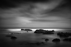 Pacific Mojos (StefanB) Tags: 2017 bw california clouds coast em5 geotag horizon outdoor pacific sea seascape pillarpoint mossbeach 1235mm