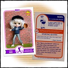 Noel, the Baseball Star!