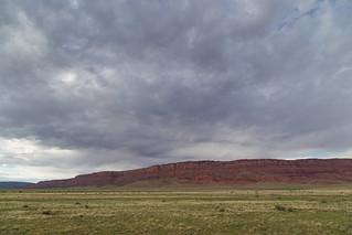 Storm over Vermilion Cliffs