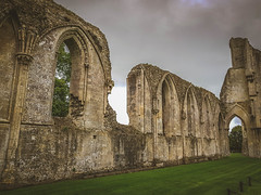 "Glastonbury Abbey. (Ian Emerson ""I'm Back"") Tags: abbey glastonbury somerset heritage england uk stone architecture stonework arches ruins outdoor samsungs8 lightroom"
