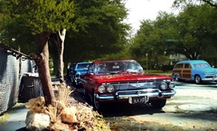 Childhood Memories Street Neighborhood (gpholtz) Tags: diorama miniatures 118 diecast impala
