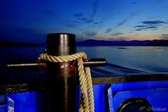 170829-66 Heure bleue (clamato39) Tags: îleauxcoudres provincedequébec québec canada heurebleue bluehour ciel sky clouds nuages nature outside sunset coucherdesoleil