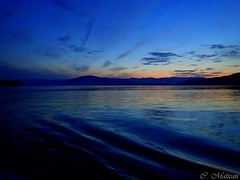 170829-63 Heure bleue (clamato39) Tags: îleauxcoudres provincedequébec québec canada heurebleue bluehour ciel sky clouds nuages nature outside sunset coucherdesoleil