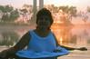 Sunday Sunrise, 1988 (clarkfred33) Tags: carillon water wade pond swamp sunrise wetadventure adventure 1988 enjoy wetfun wetlook wetdress whitedress wetwoman sunday wetclothes mist beauty nature float skirt soaked serene scenic