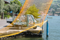 Piaggio - TKF (Ton Kuyper Fotografie) Tags: piaggio italie italy lakeiseo iseomeer water monteisola sensole