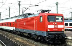 112 132  Dortmund  05.07.02 (w. + h. brutzer) Tags: dortmund eisenbahn eisenbahnen train trains deutschland germany elok eloks railway lokomotive locomotive zug db dr 112 webru analog nikon