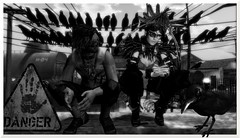 How dangerous could one bird be? (tralala.loordes) Tags: tralalasdiner pinelake secondlife virtualreality willienelson crows danger postapocalypse apocalyptic worm cheese mouse imminentdanger fear pfc lode unorthodoxsmith flickrunitedaward