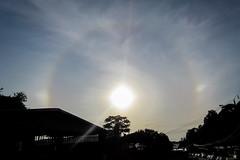 Halo solar (Mabelín Santos) Tags: sol halo halosolar solarhalo rainbow circularrainbow