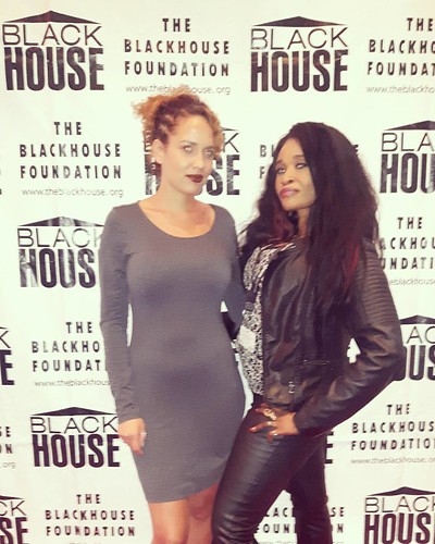 At the #blackhousefoundation with my beautiful friend Alex ❤❤❤ #tiff2017