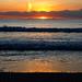 Clave de sol (Jose Prieto.) Tags: pentagrama sol amanecer sunset sea mar olas waves sun sky seascape morning