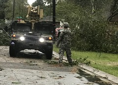 Georgia National Guard (The National Guard) Tags: georgia ga gang trees roads clear debris ng national guard nationalguard guardsman guardsmen soldier soldiers airman airmen us army air force united states america usa military troops 2017 hurricane irma response respond assistance disaster emergency