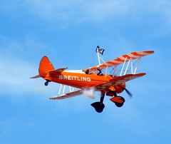 DSCN40601 (dkmcr) Tags: southportairshow southport airshow aircraft aeroplane formation display aerobatic 17th september 2017 flying breitli boeing stearman wingwalker