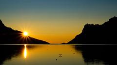 sunset (John A.Hemmingsen) Tags: ersfjordbotn autumn landscape fujifilm tromsø sky sunset