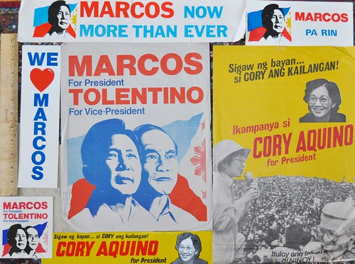 Election Campaign Material, Philippines