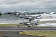 British Aerospace Hawk Mk.51 (Manx John) Tags: finnishairforcebritishaerospacehawkmk51hw334cn31223 finnish air force british aerospace hawk mk51 hw334 cn 312233 hw340 312239 hw341 312238 hw345 312242 midnight hawks