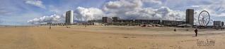 Panorama, Strand, Zandvoort aan Zee, Netherlands - 5564