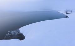 Cerknica Lake (happy.apple) Tags: otok cerknica slovenia si cerkniškojezero cerknicalake slovenija winter morning zima jutro fog megla rešeto ice led