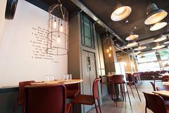 _DSC2050 (fdpdesign) Tags: pizzamaria pizzeria genova viacecchi foce italia italy design nikon d800 d200 furniture shopdesign industrial lampade arredo arredamento legno ferro abete tavoli sedie locali