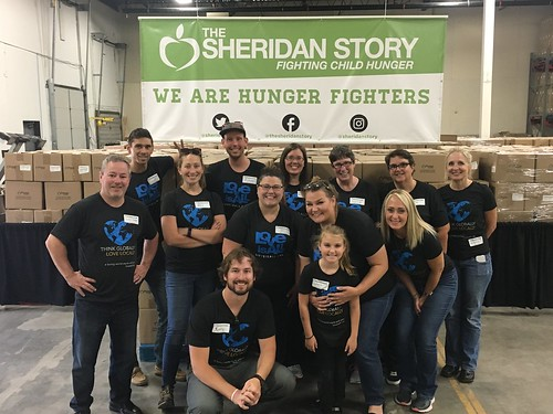 DC Group Afternoon Packing Event 8/15/17