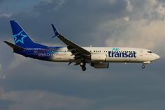 C-GTQG (Air Transat) (Steelhead 2010) Tags: airtransat boeing b737 b737800 yyz creg cgtqg