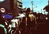 Danger Storm (Georgie_grrl) Tags: pedestriansunday july2017 kensingtonmarket musicians performers buskers community pentaxk1000 rikenon12828mm toronto ontario expiredfilm tattoo ink manholecover dangerstorm streetartofadifferentsort creative awesomeness