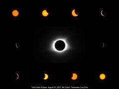 Caught Up In You (Lisa Zins) Tags: lisazins total solar eclipse totalsolareclipse solareclipse totality corona phases eclipsephases sun moon sky greatamericaneclipse great american north america tn tennessee mtjuliet mountjuliet nashville musiccityeclipse music city usa canon sx500 hd wwwphotocollagecom august 21 2017 caughtupinyou americaneclipse songtitle