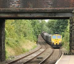 Down the hill (kitmasterbloke) Tags: wrexham shropshire train railway locomotive transport uk outdoor