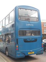 Arriva 4002 TUI 7932 (Alex S. Transport Photography) Tags: bus vehicle arriva wrightgemini wright volvob7tl sapphire 4002 routex3 tui7932 outdoor road