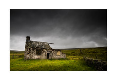Gayle Beck Lodge, Ribblesdale, Yorkshire - Explore 06.08.2017 - No. 30 (muddybootsuk) Tags: gaylebecklodge deterioration ruinedbuilding luncheonhut shootingbox moors yorkshire hunting shooting fishing landscape yorkshiredales clouds stroms potholing caving warrington snow 1960s ribblesdale summer building dilapidation unitedkingdom greatbritain england north northern grimupnorth muddybootsuk nikond810 nikkor1635mm ingleborough parkfell