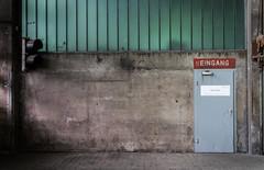 (N)Eingang (StrauSeba) Tags: nordart büdelsdorf art modern urban door entrance sign wall building