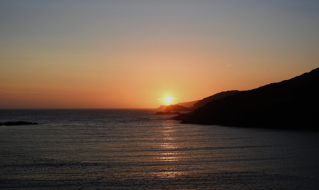 sunset scourie