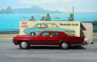 Dinky Toys Pontiac Parisienne No. 173 1969 : Diorama PS2 GT4 Computer Game Backdrop Costa di Amalfi - 2 Of 16
