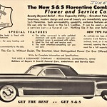 1949 S & S Florentine Combination Flower and Service Car thumbnail